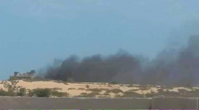 aerial bombing of 'Skill Hotel' in SIRTE