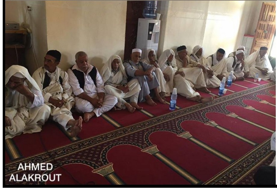 al-QOALISH mosque joins ZINTANI in Friday prayers, as returning home, 1