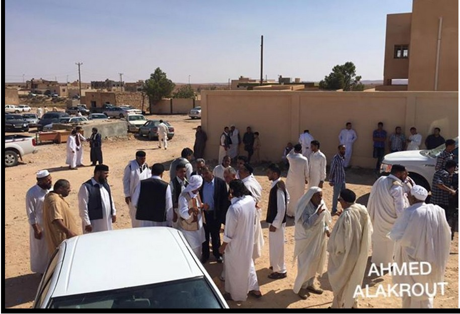 al-QOALISH mosque joins ZINTANI in Friday prayers, as returning home, 2