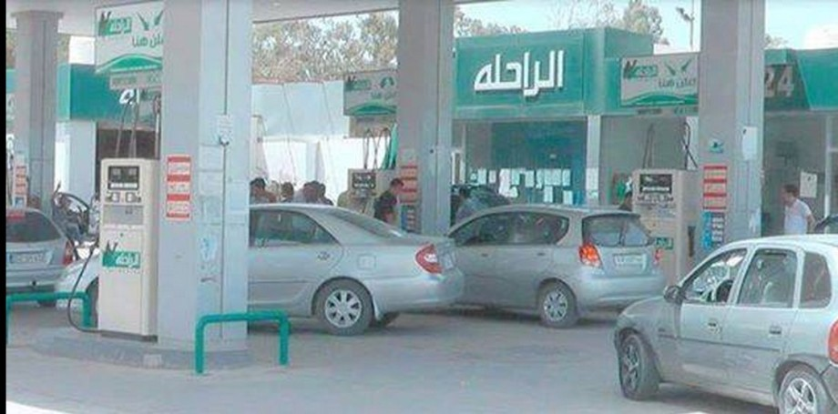 auto fuel station congestion in Libya