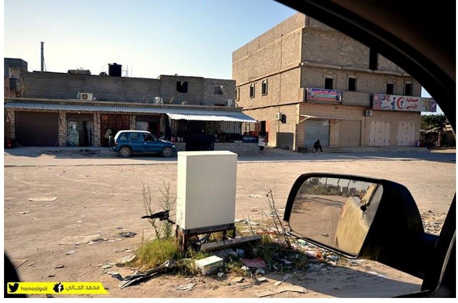 Benghazi, 2 trashed