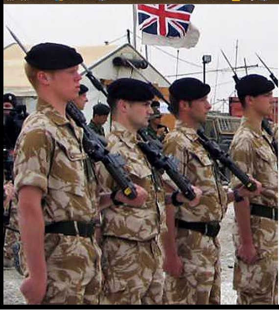 British Special Forces working as DAASH, 1