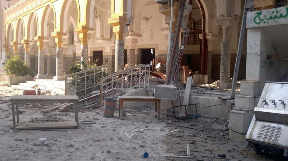 destruction of Zliten Mosque, 1