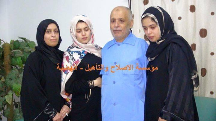 Dr. al-BAGHDADI al-MAHMOUDI, General Secretary, was able meet his family ...