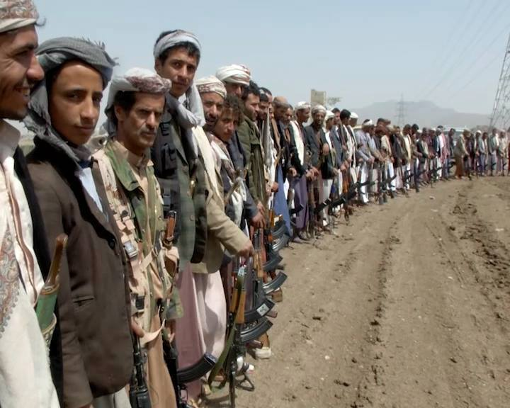 hundreds Yemeni tribes preparing for the next strategic options against the aggression, 2