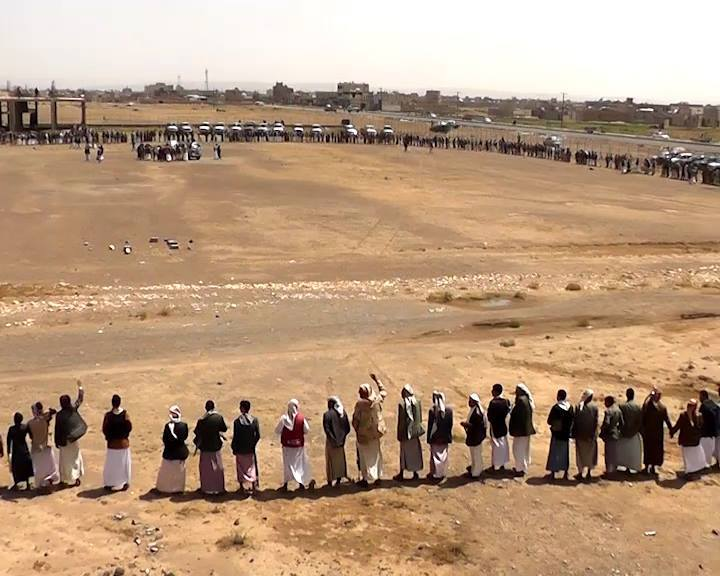 hundreds Yemeni tribes preparing for the next strategic options against the aggression, 3