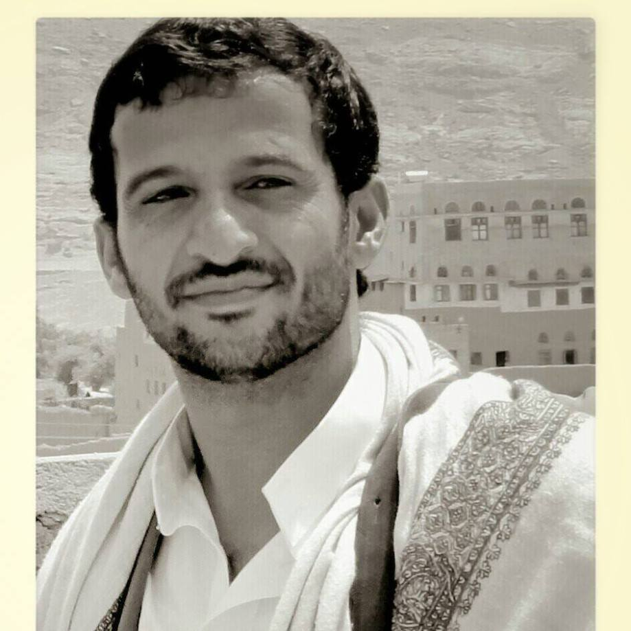 Hussein al-Izzi, leader of 'Ansar-Allah' in Yemen