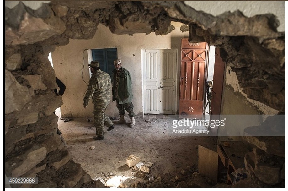 KIKLA HOMES were systematicly destroyed by 'FAJR LIBYA'