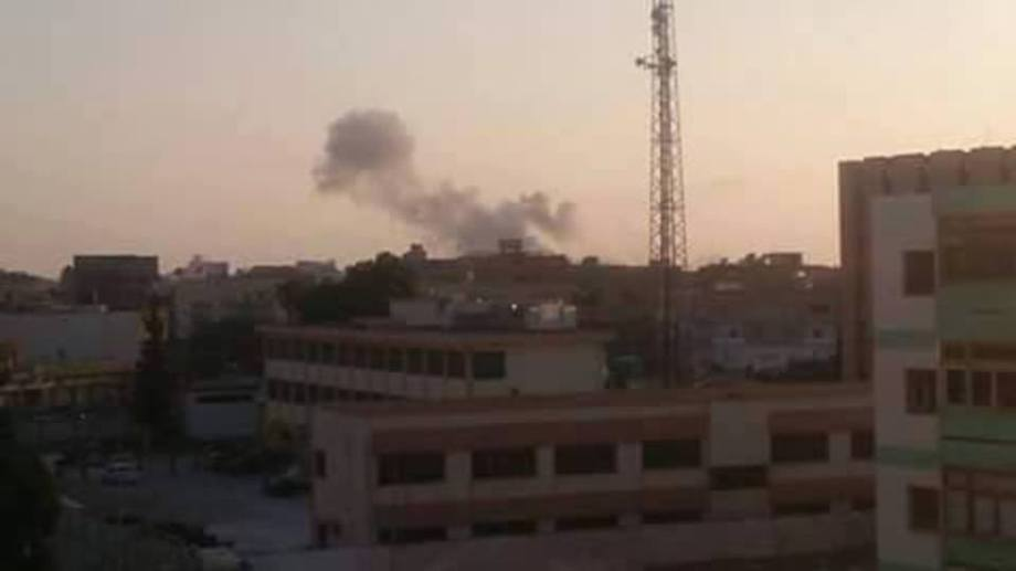 LIBYAN AIRFORCE EAGLES BOMBED 'DAASH' HIDE-OUTS in BENGHAZI