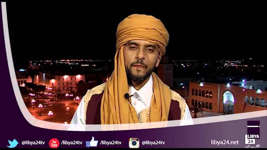 Majid Osman, a member of the Libyan tribes and cities Conference on 'Jamahiriya News'