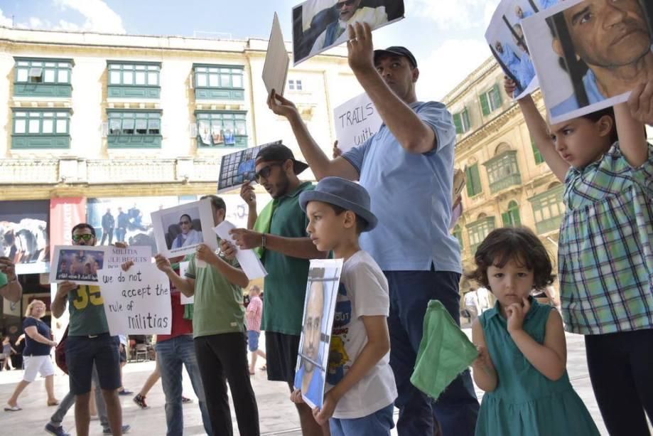 MALTA PROTESTS