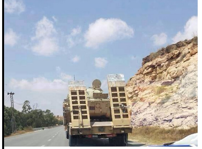 'Militias Cane' send tanks to Souk al-Ohd, TARHOUNA