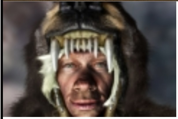 Neanderthal bear hunter, Image 2