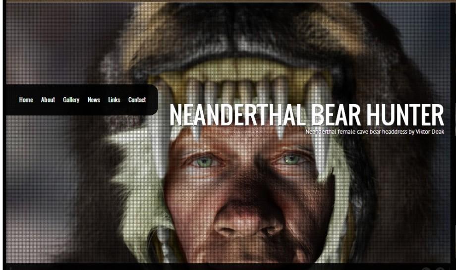 Neanderthal Bear Hunter