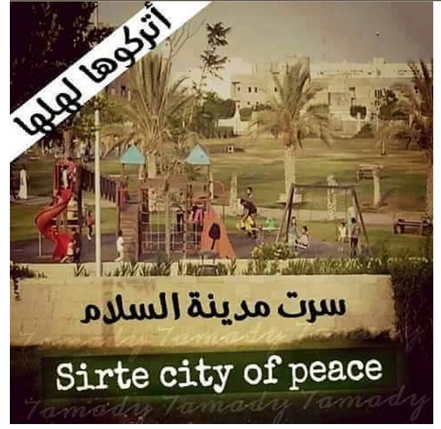 SIRTE was 'the City of Peace'
