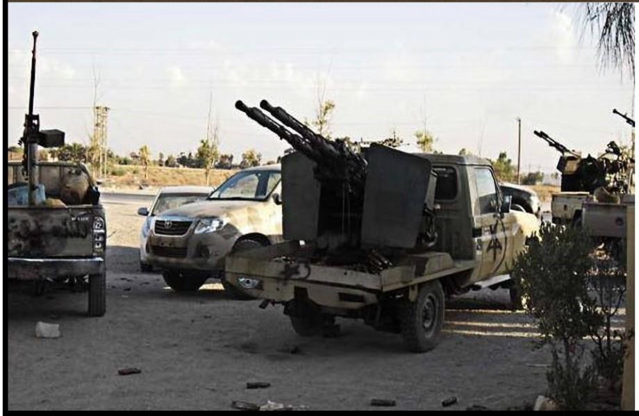 SURMAN w LIBYAN ARMY, 1
