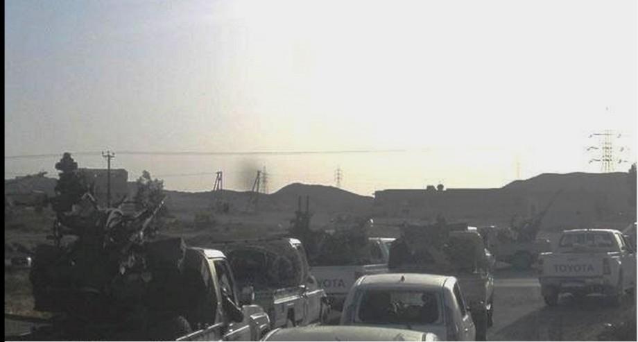 SURMAN w LIBYAN ARMY, 2