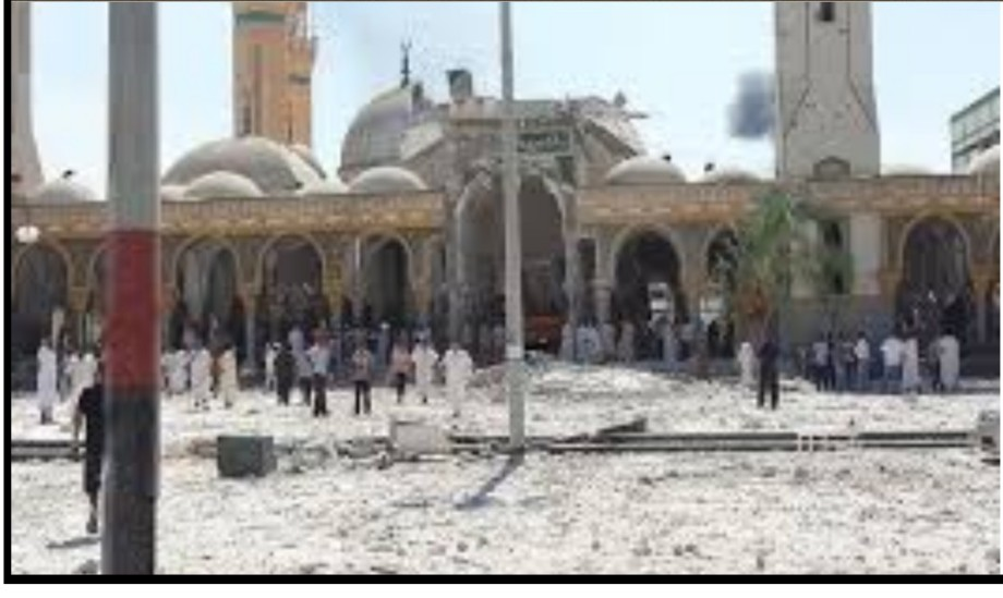 total destruction of the ancient Grand Fatouri Mosque in Zliten