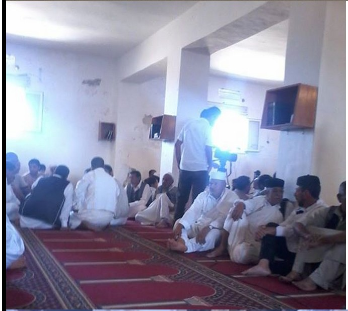 Zintani w al-Qoelesh in the mosque of al-Qoalesh