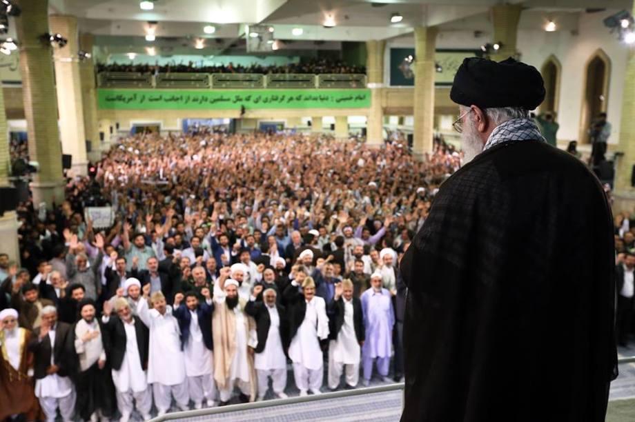 08 SEPT. Khamenei meeting on anniversary of their Iran Revolution from the Yankee puppet Shah