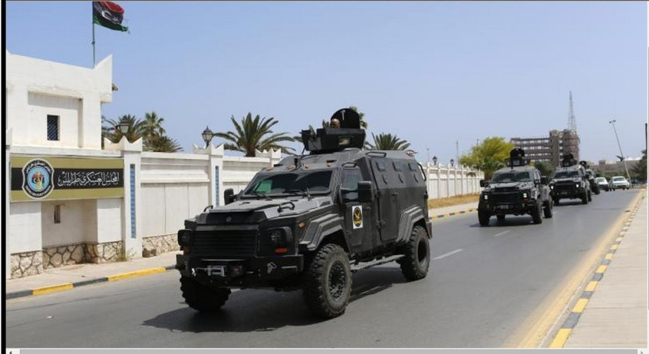 Americans leave Libya
