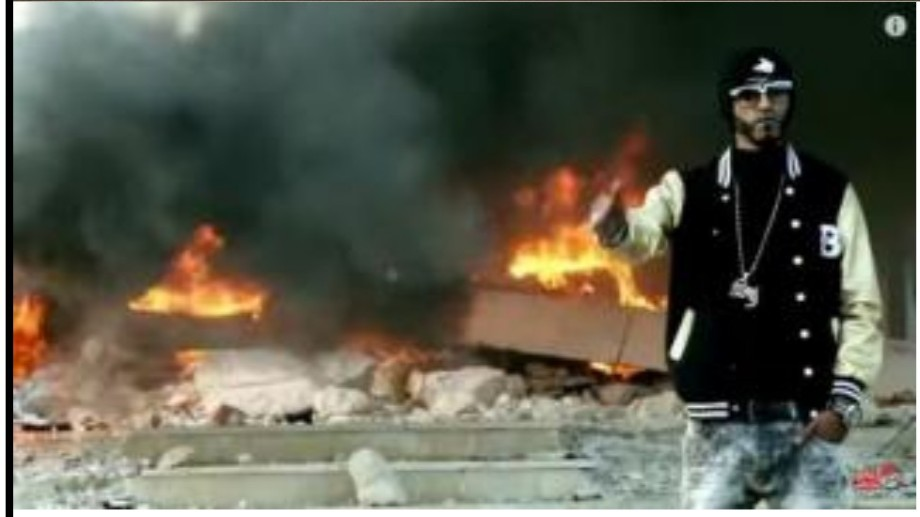 Benghazi flammes
