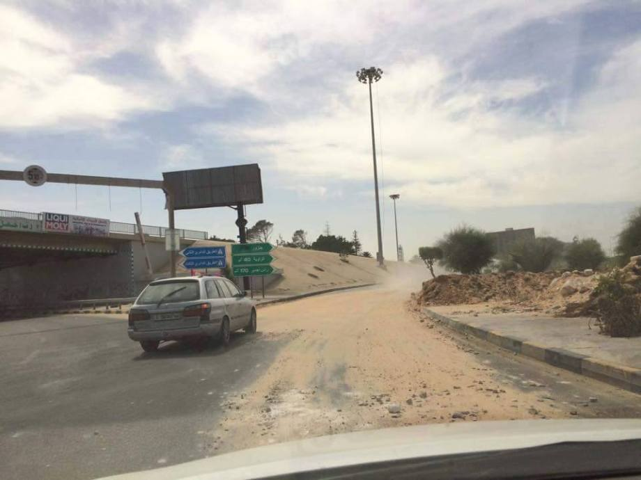 Coastal Road reopens at Janzour