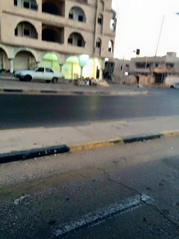 'Daash' closes the shops and the evacuation of Sirte streets to go to the mosques and pray on time
