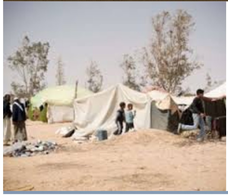 displaced Libyans