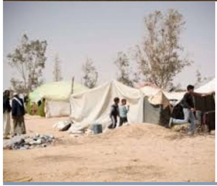 displaced Libyans
