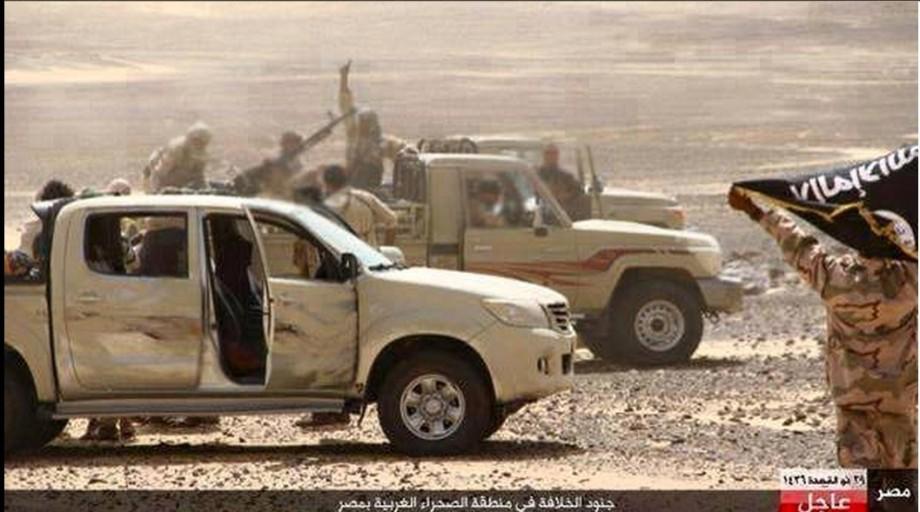 Egyptian Army in Western Libya fighting DAASH, 1