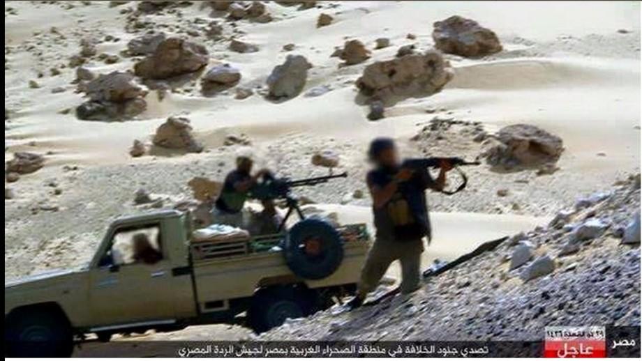 Egyptian Army in Western Libya fighting DAASH, 2