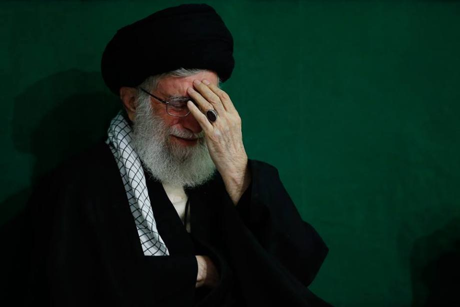 Khamenei in Pain knowing the condition of the world
