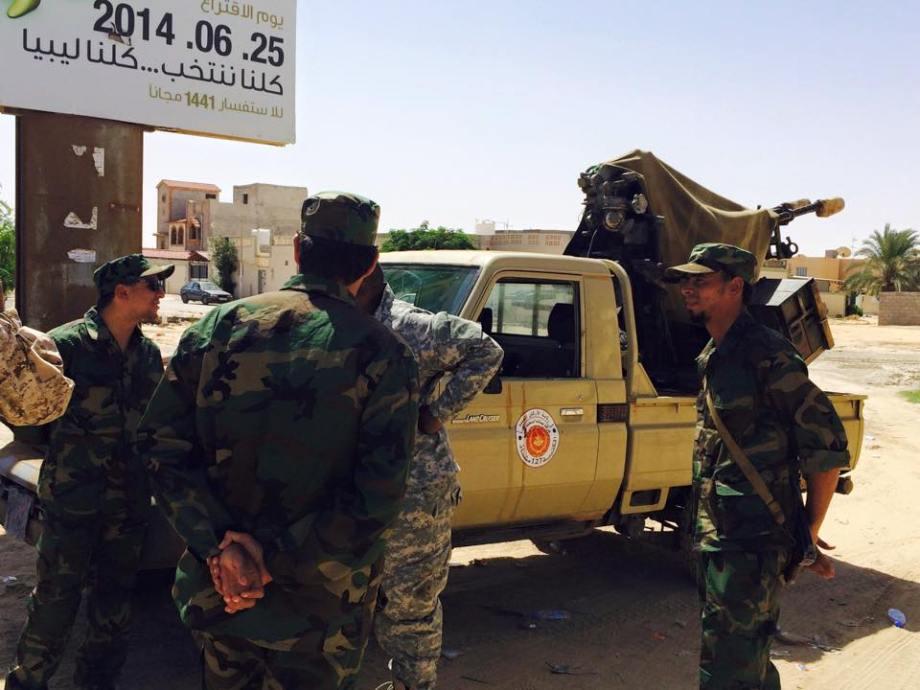 Libyan Army in the Western Region, 2