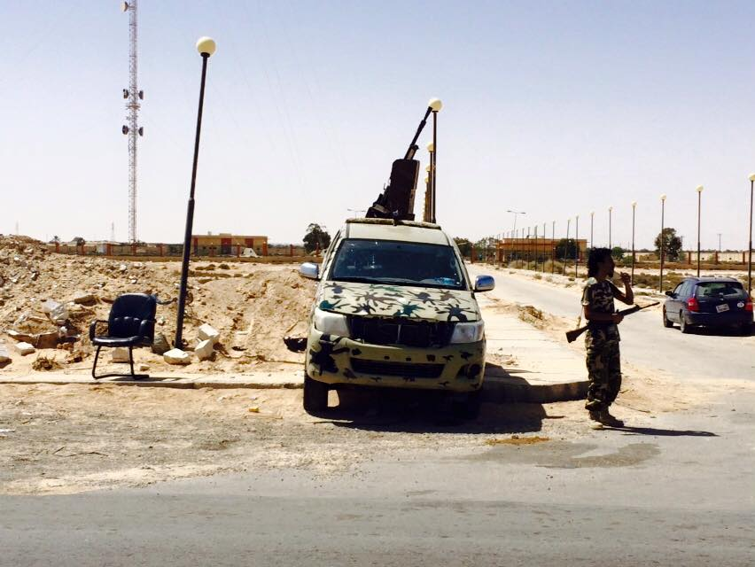 Libyan Army in the Western Region, 3