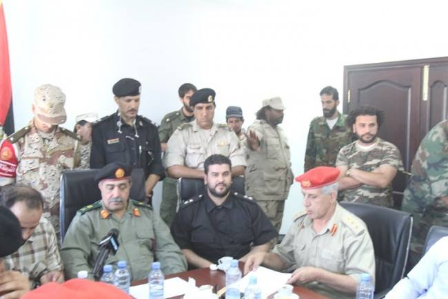 Libyan Chiefs of Staff of the Libyan Army makes 100 man workforce from each battalion to liberate Benghazi