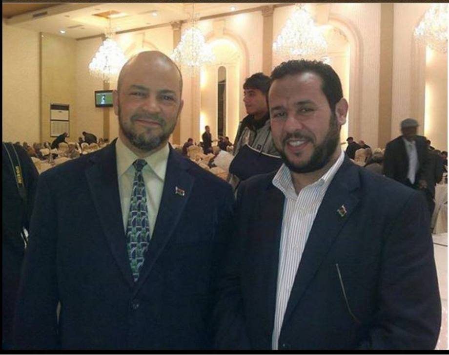 Mohammed BAIO with Belhadj