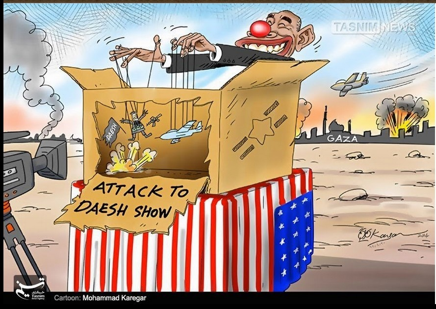 OBAMA's attack on DAASH is not for real