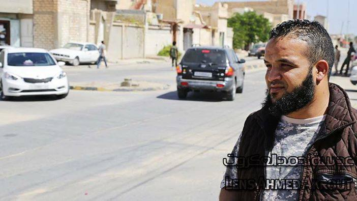 "Official spokesman for the battalion 'Abu Bakr Siddiq' room of the 'western region operations', ""Mustafa mind"""