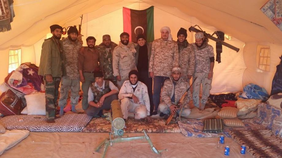 OIL GUARD INSTALLATIONS member soldiers, commanded by Ibrahim al-Jdharan