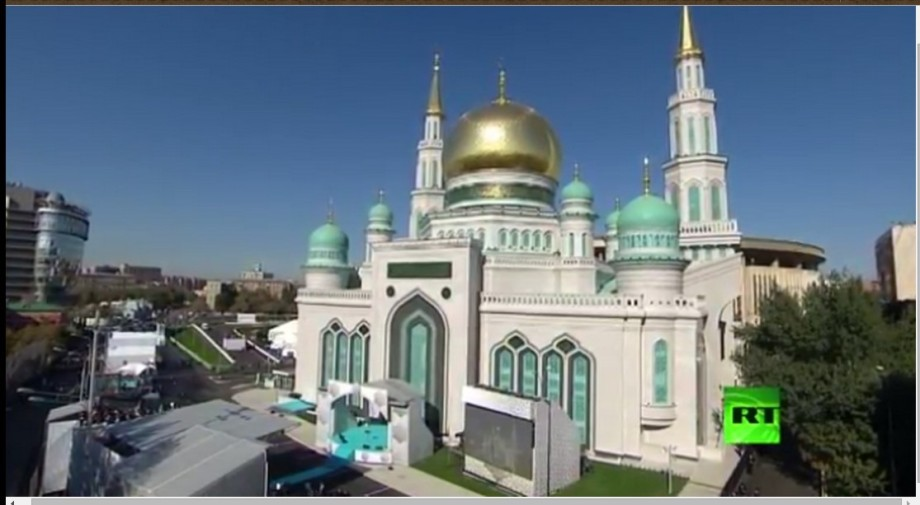 Opening of the Great Mosque in Russia