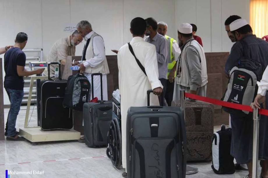 2 Pilgrims At Zintan Int Airport 1