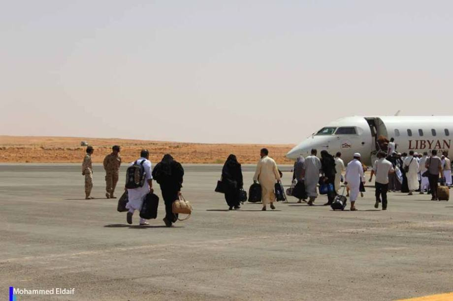 Pilgrims at Zintan Int. Airport, 6