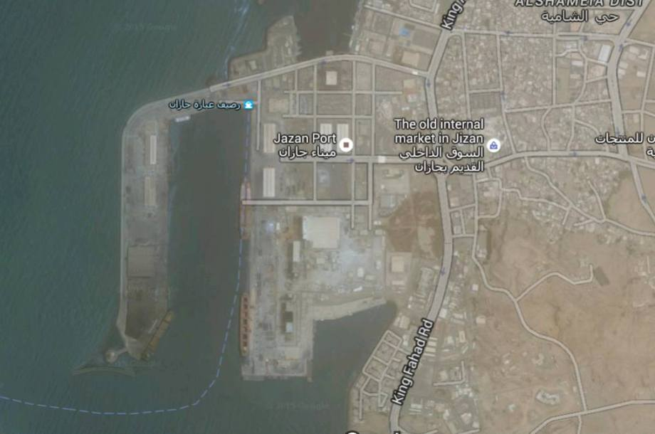 PORT of JIZAN, MAP 2