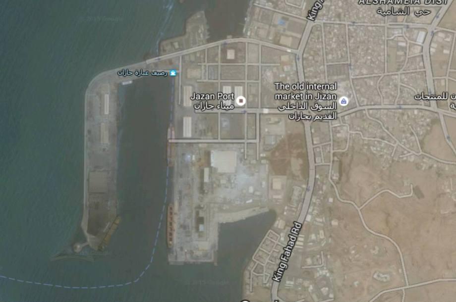 PORT of JIZAN, MAP 2