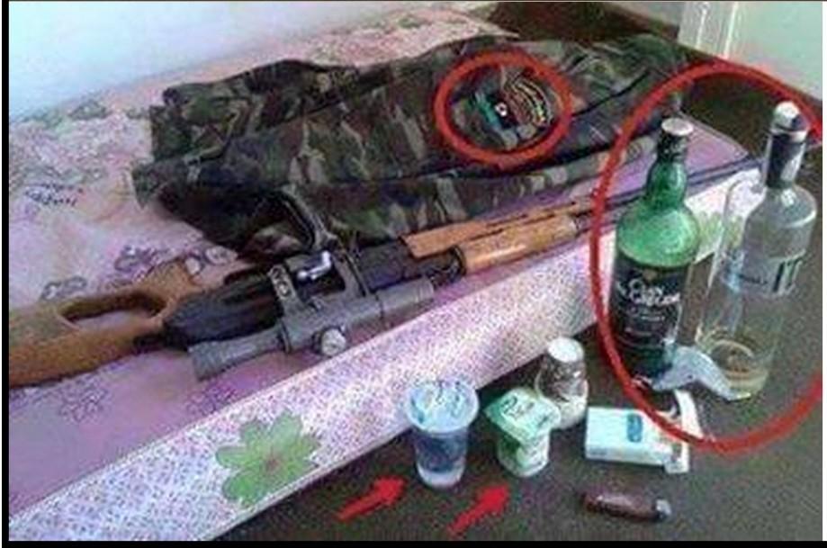'ROMA LIBYA' soldier
