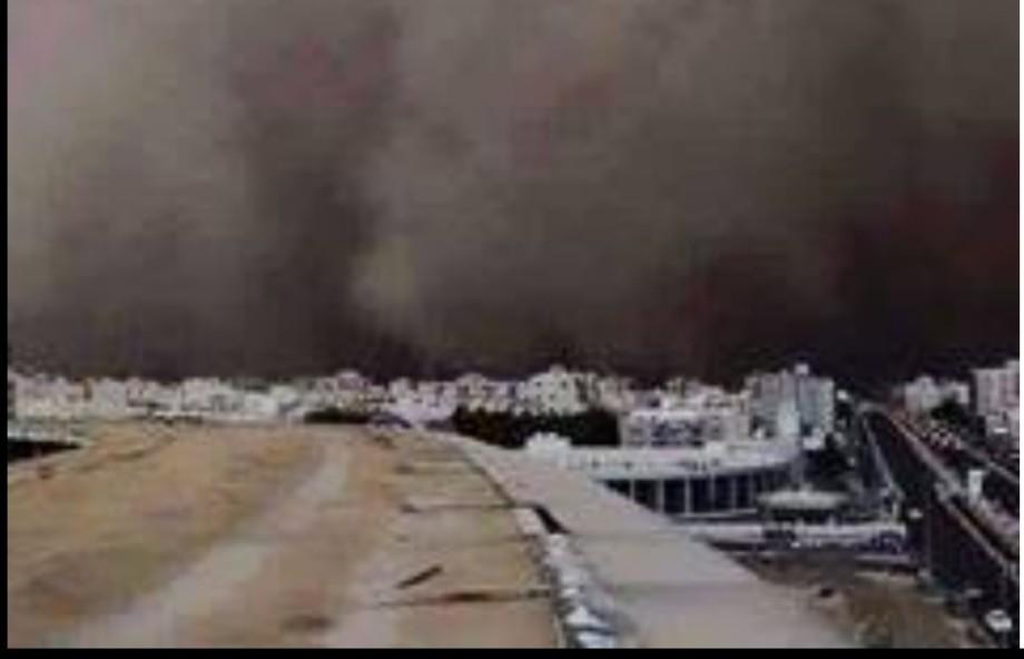 Sandstorm in Mecca, 2