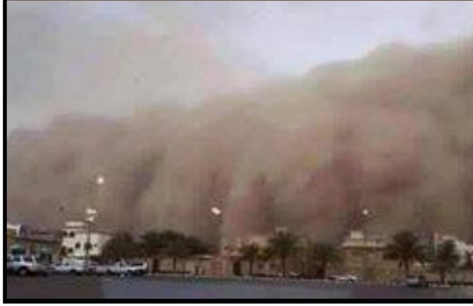 Sandstorm in Mecca, 3
