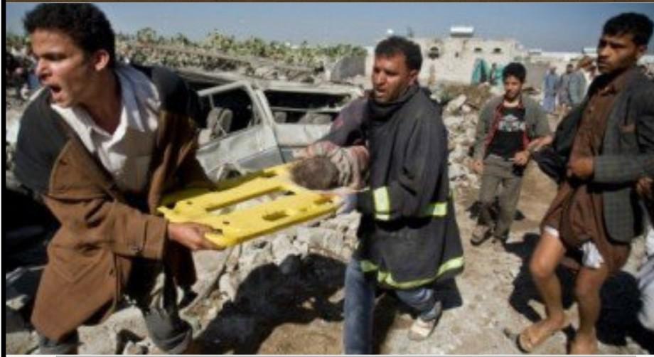 Saudi-American terror in Yemen