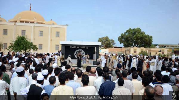 SIRTE Daash execution, 1